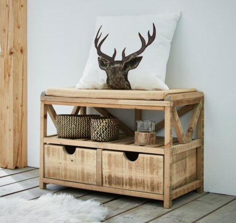 Sitzbank Used-Look   Home-Trends24